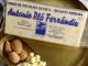 Turrón chocolate blanco y almendra Marcona artesano