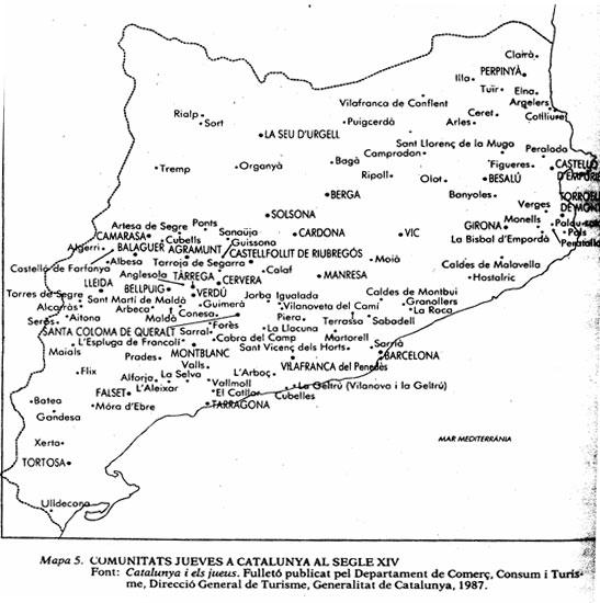 Cataluña del siglo XIV